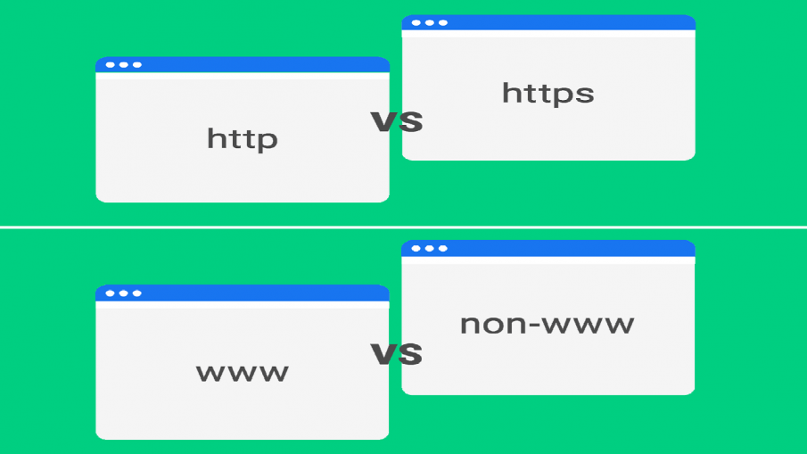 http to https and www to non www